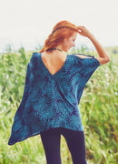 Hem Detailed Cold Shoulder Tunic Top