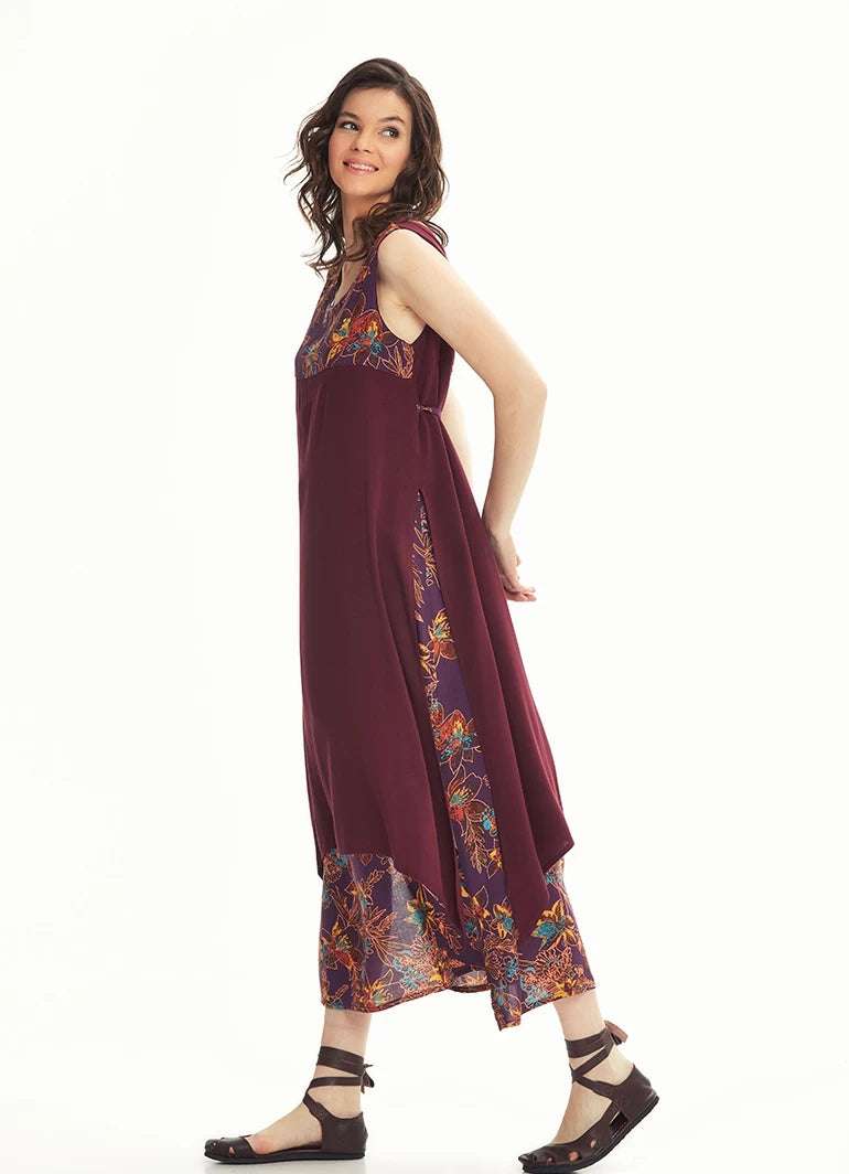 Maxi Summer Dress Double Layer - Doublies
