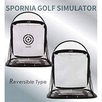 Optishot2 Golf Simulator + Spornia SPG-7 Golf Net + White Target Sheet: Bundle #2