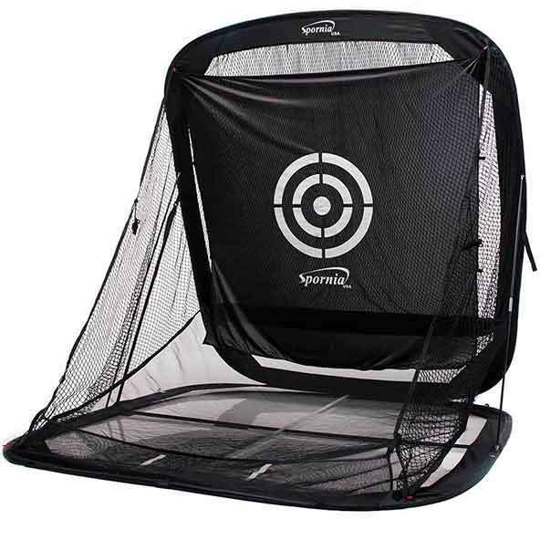 Spornia SPG-7 Pro Bundle #3: Net, Pro Turf Teaching Mat & Callaway Chip-Shot Chipping Net