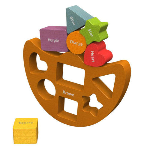 Balance Boat Shapes & Colors Learning Toy