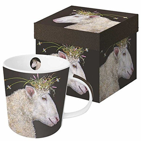 Vicki Sawyer Bianca Gift-Boxed Mug 13.5 oz