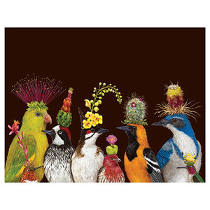 """Desert Party"" - Greeting or Note Card by Vicki Sawyer"