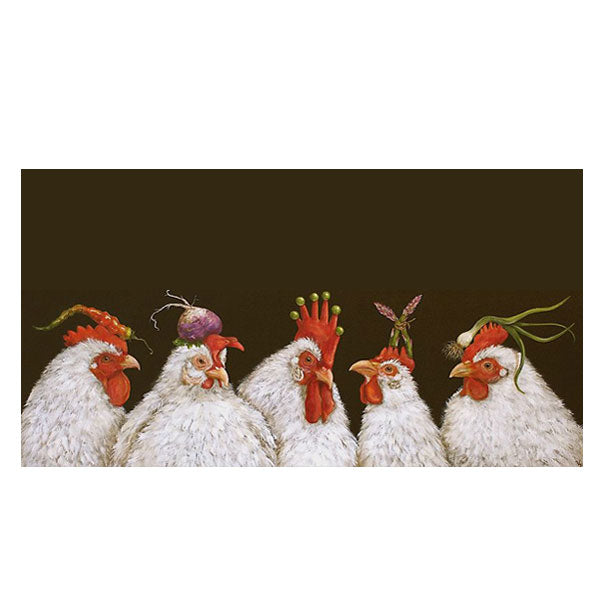 Sous Chefs - Greeting or Note Card by Vicki Sawyer