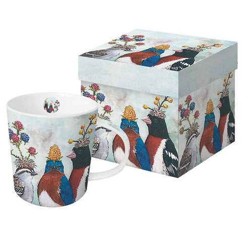 "Vicki Sawyer - ""The Berry Festival"" Gift-Boxed Mug 13.5 oz"