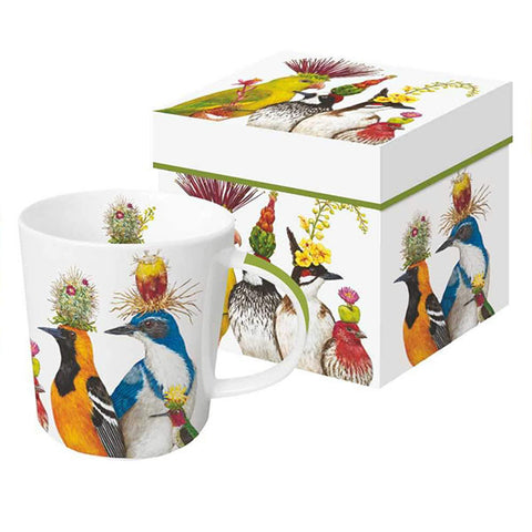 "Vicki Sawyer ""The Entourage"" Gift-Boxed Mug 13.5 oz"