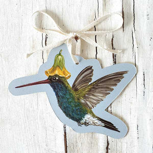 HUMMINGBIRD  GIFT TAG - PACK OF 12 by Vicki Sawyer