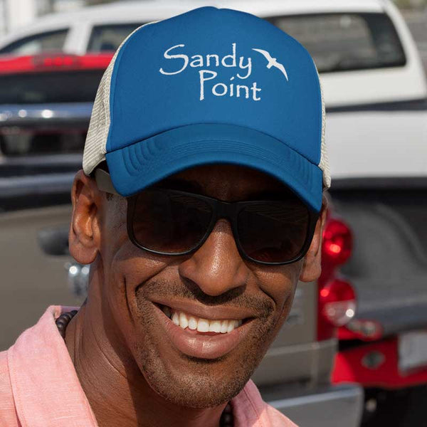 Sandy Point Baseball Cap - CT / RI Shoreline Coastal Wear