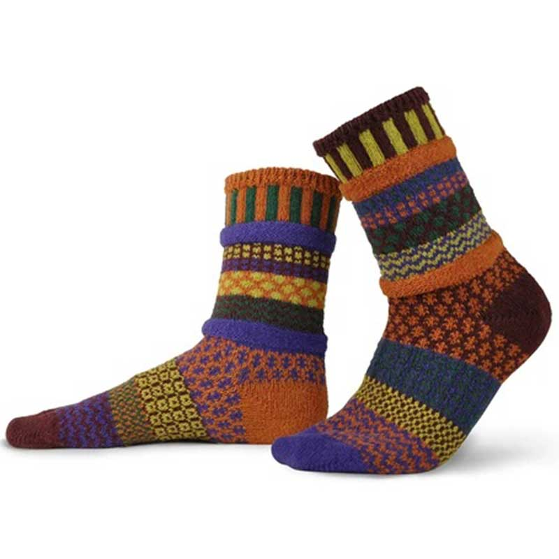 Fall Foliage - Unisex Crew Socks by Solmate Socks