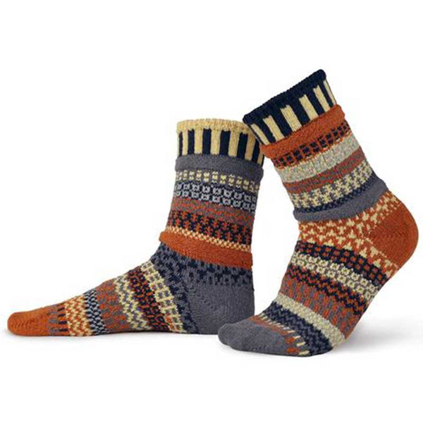 Nutmeg - Unisex Crew Socks by Solmate Socks