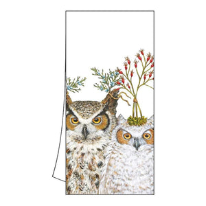 "Vicki Sawyer ""Holiday Hoot"" Cotton Kitchen Towel"