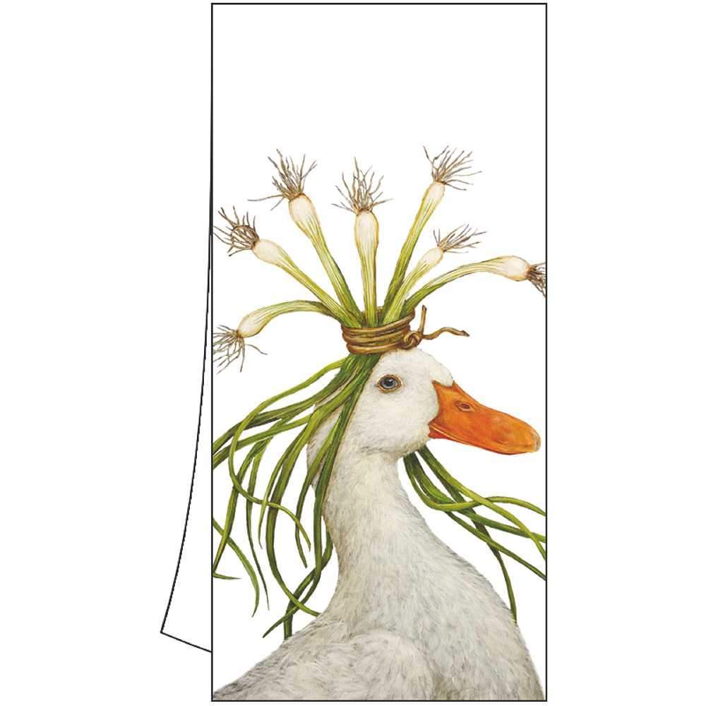 "Vicki Sawyer ""Miranda"" Goose Cotton Kitchen Towel"