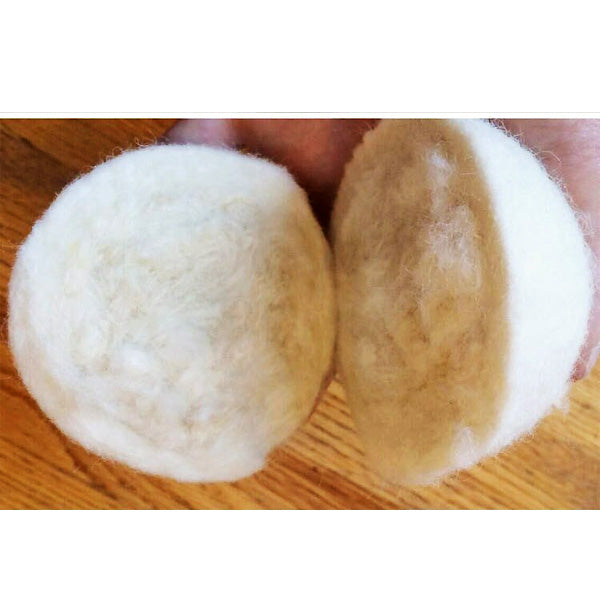 Wool Dryer Balls – 6-pack New Zealand Wool, Reusable Eco-friendly Laundry Product