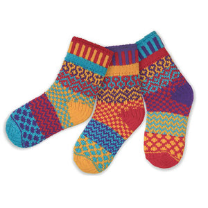 Firefly Kids - Unisex Crew Socks by Solmate Socks