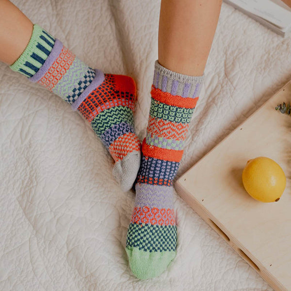 Juniper - Unisex Crew Socks by Solmate Socks