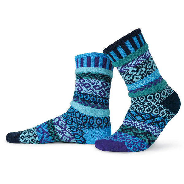Water - Unisex Crew Socks by Solmate Socks