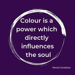 Colour is a power which directly influences the soul