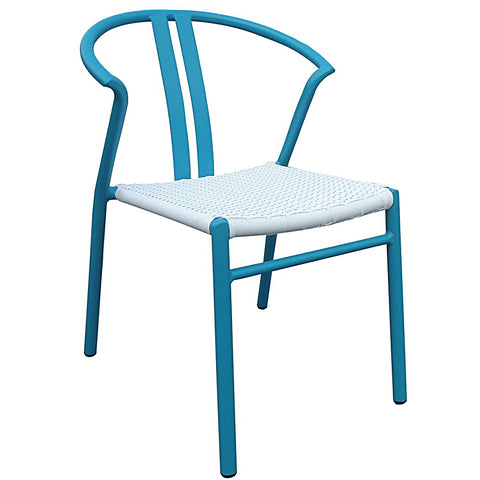 Blue Hampton Chair