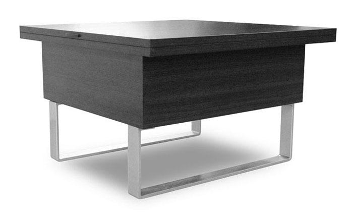 Milan Convertible Coffee Dining Table - Espresso