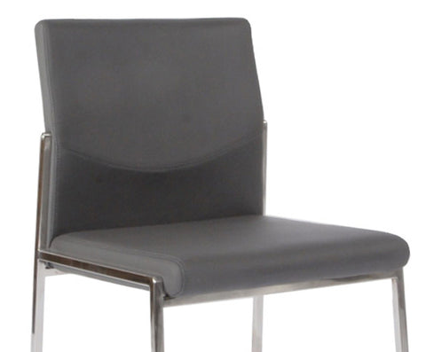 Angle Finish Dining Chair - Grey