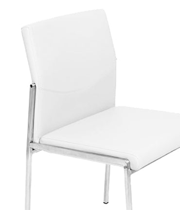 Angle Dining Chair - White