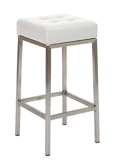 Vanity Counter Stool - White