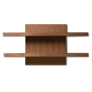 Cargo Walnut Wenge Wall Shelf