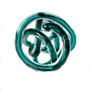 Orbit Glass Decor Ball Large - Teal