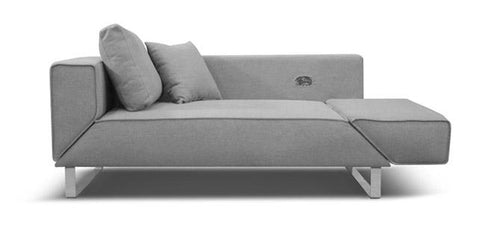 Carter Sofa Bed - Light Grey