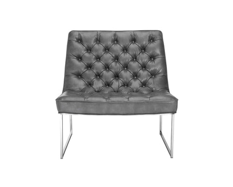 Toro Grey Nobility Leather Chair