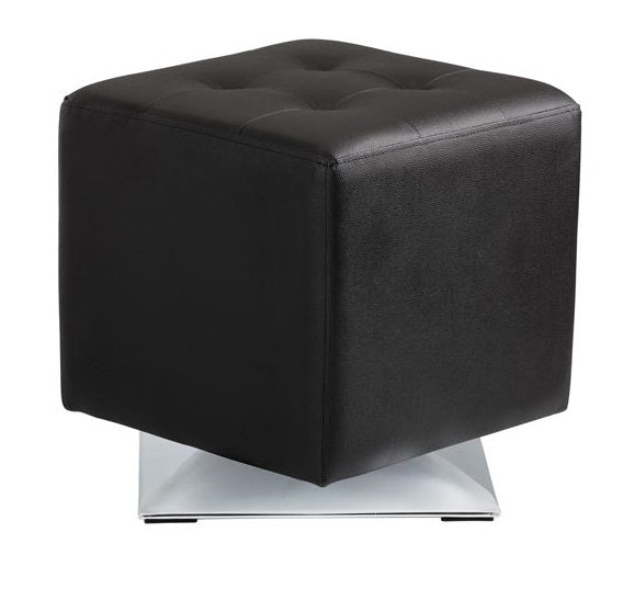 Marco Swivel Ottoman - Black