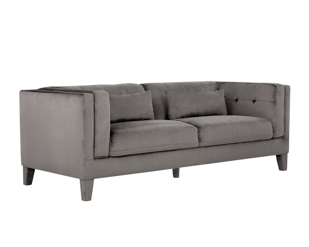 Zander Sofa - Picocolo Pebble Fabric