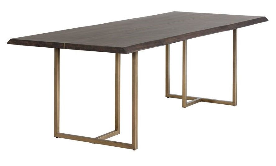Donnelly Dining Table - Antique Brass