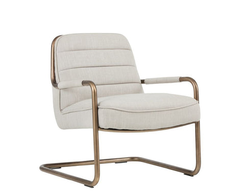 Lincoln Lounge Chair - Linen
