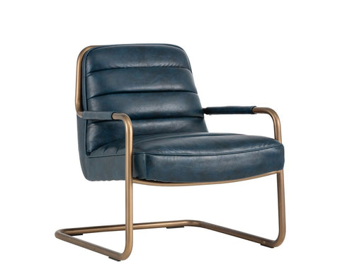 Lincoln Lounge Chair - Blue