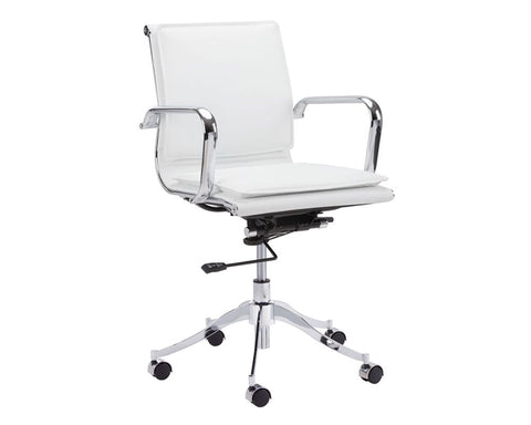 Morgan Office Chair - Snow