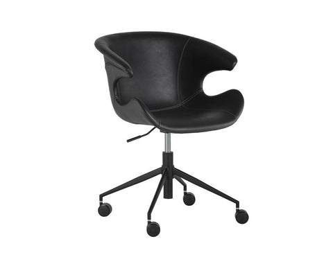 Kash Office Chair - Nightfall Black