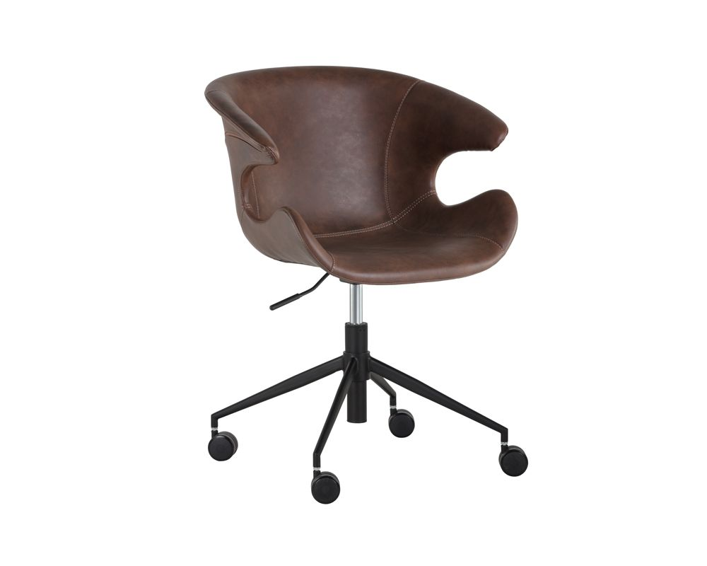Kash Office Chair - Hearthstone Brown