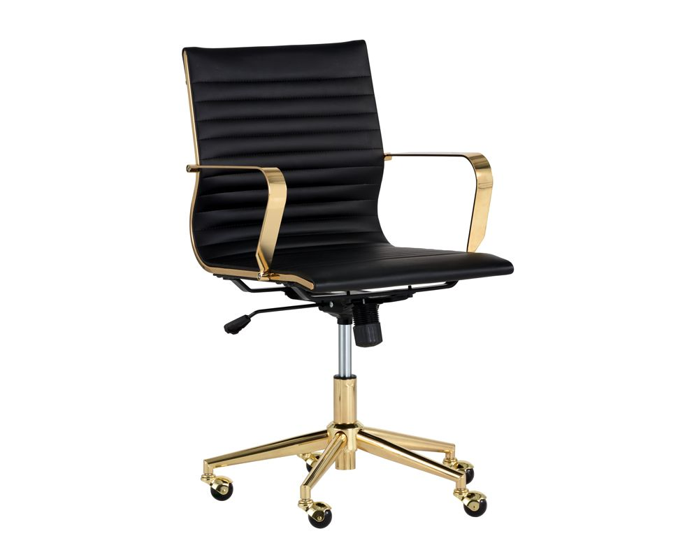 Jessica Office Chair - Black