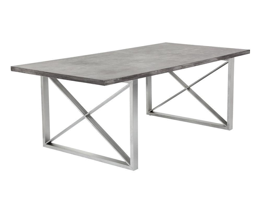 Catalan Dining Table - Concrete