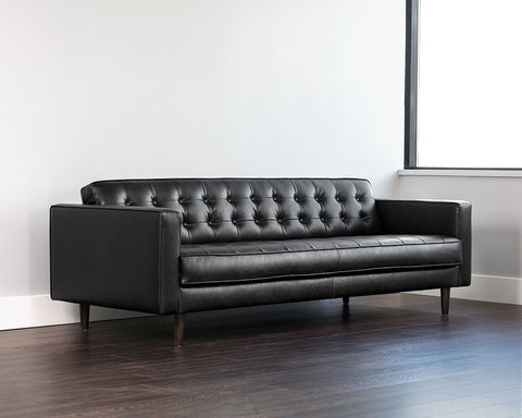 Donnie Sofa - Coal Black