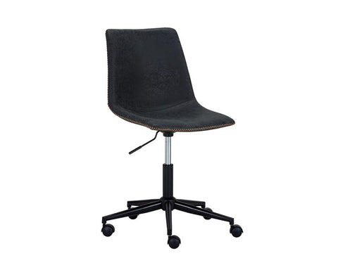 Cal Office Chair - Antique Black