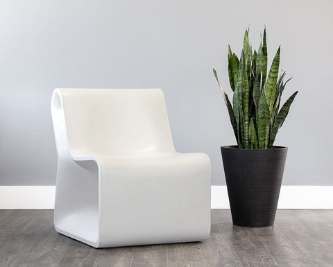 Odyssey Lounge Chair - White