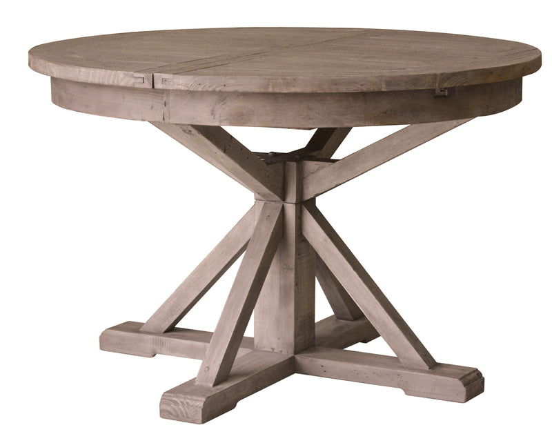 Irish Coast Reclaimed Round Extension Dining Table - Sundried