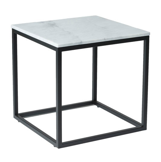 Verona Side Table - White Marble