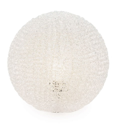 Sphere Clear Mesh Table Lamp - Small