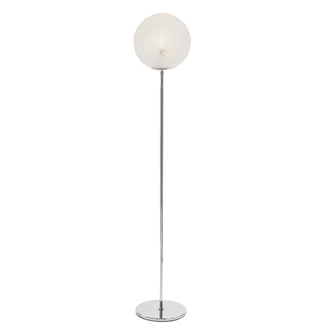 Sphere Clear Mesh Floor Lamp