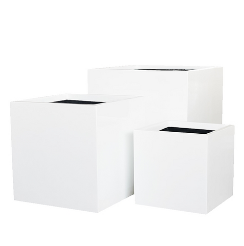 Aria 3 Piece Square Planter Set with Liners