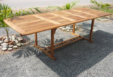 Gardenia Macdonna Double Extension Table