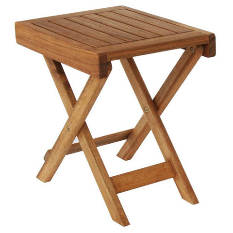 Gardenia Folding End Table / Stool